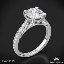 Platinum Tacori HT2627RD RoyalT Diamond Engagement Ring | Whiteflash