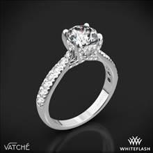 Platinum Vatche 1026 Jennifer Diamond Engagement Ring | Whiteflash