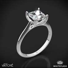 Platinum Vatche 1503 Alegria Solitaire Engagement Ring | Whiteflash