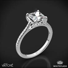 Platinum Vatche 1504 Alegria Pave Diamond Engagement Ring | Whiteflash