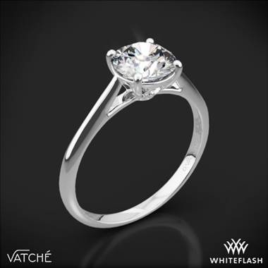 Platinum Vatche 1516 Inara Solitaire Engagement Ring
