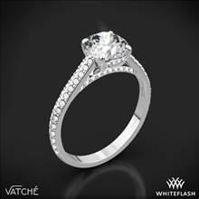 Platinum Vatche 1536 Euphoria Diamond Engagement Ring   Whiteflash