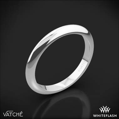 Platinum Vatche U 113 Knife Edge Wedding Ring