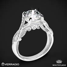 Platinum Verragio INS-7060 Intertwined Diamond Engagement Ring | Whiteflash