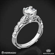 Platinum Verragio Parisian D-100 Diamond Engagement Ring | Whiteflash