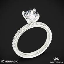 Platinum Verragio Tradition TR180R4 Diamond 4 Prong Engagement Ring | Whiteflash