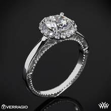 Platinum Verragio Venetian Centro AFN-5019R-1 Halo Engagement Ring   Whiteflash