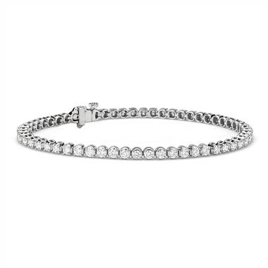"""Premier Diamond Tennis Bracelet in Platinum (3 ct. tw.)"""