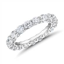Royal Crown Diamond Eternity Ring in Platinum (3 ct. tw.) | Blue Nile