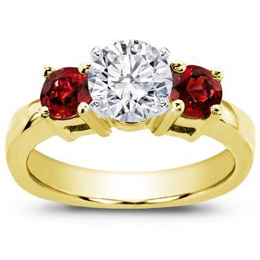 Ruby Accented Engagement Setting