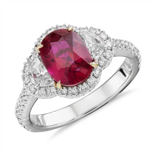 Spotlight: Gemstone Engagement Rings