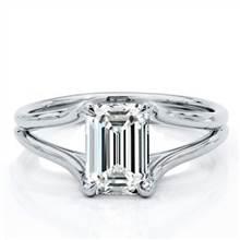 Split Shank Engagement Ring Setting | Adiamor