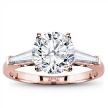 Tapered Baguette Three Stone Setting | Adiamor