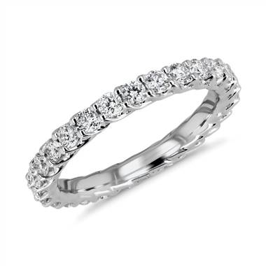 Tessere Weave Diamond Eternity Ring in Platinum (1 ct. tw.)