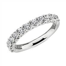 Tessere Weave Diamond Wedding Ring in Platinum (3/4 ct. tw.) | Blue Nile