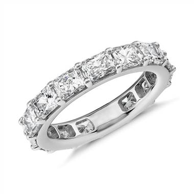 """The Gallery Collection East-West Radiant-Cut Diamond Eternity Ring in Platinum (4.5 ct. tw.)"""