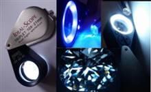 UV and LED Light Super 10x Loupe | Ideal-Scope