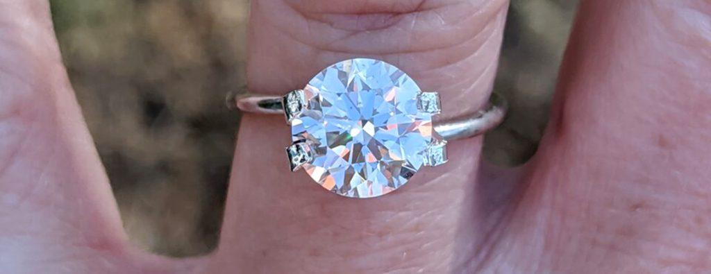 Eye clean diamond