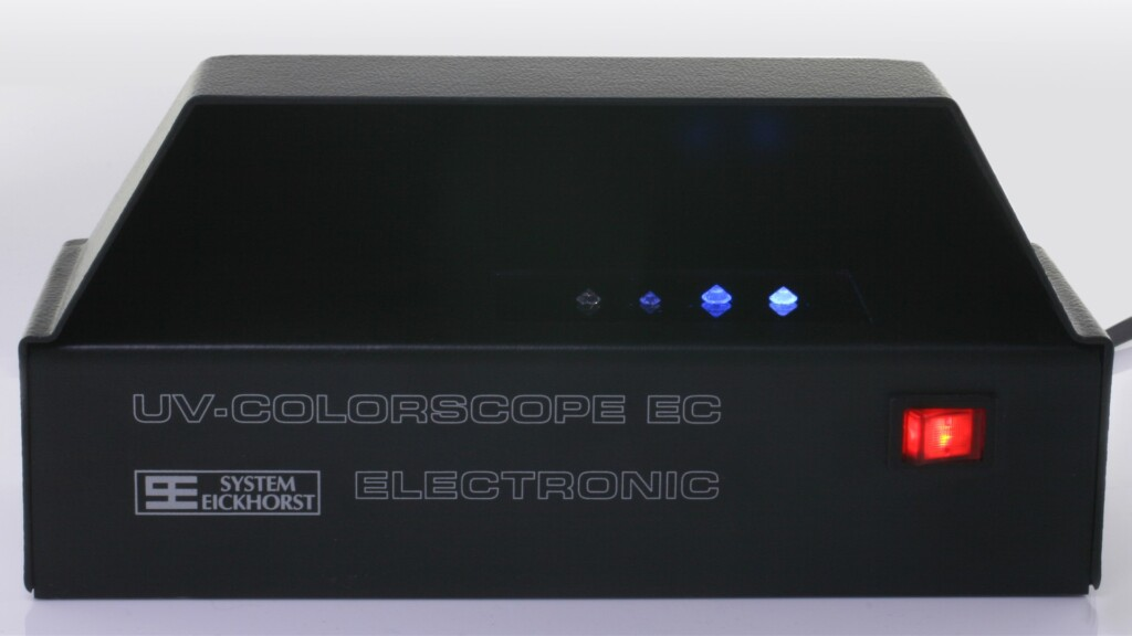 Fluorescence UV box