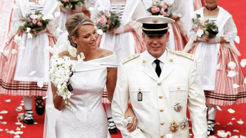Princess Charlene and Prince Albert of Monaco's Wedding.