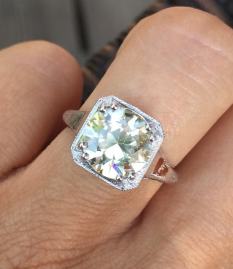 This diamond is an autumn dream come true