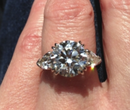 3 Stone Engagement Ring Upgrade