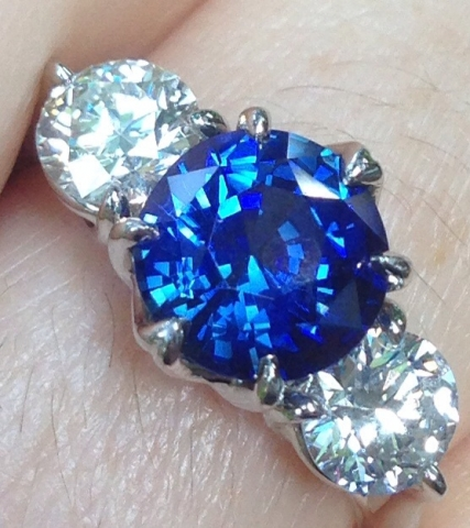 Diamonds and Sapphires are Winter Wonderful