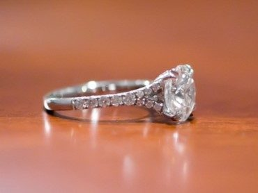 Superb Split Shank Custom Engagement Ring