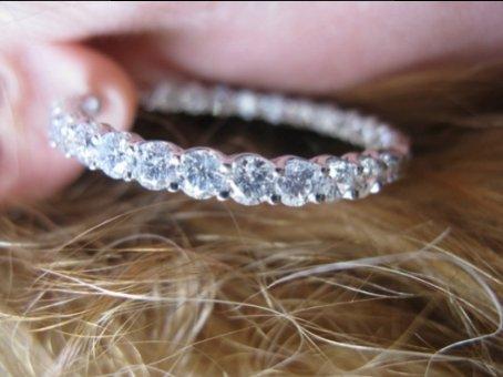 look at those incredible diamonds!