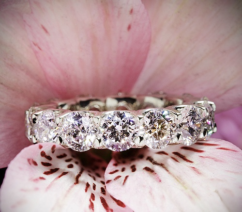 Sensational 7 ct Eternity RIng