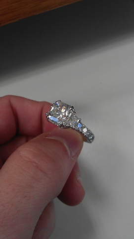 Ravishingly Radiant Engagement Ring