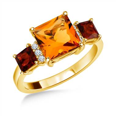 November Birthstone: Tantalizing Topaz and Captivating Citrine