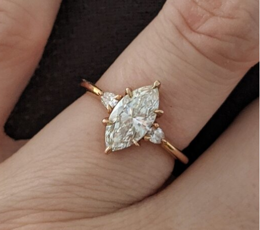 Marquise Engagement Ring Upgrade