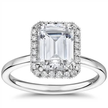 Emerald Cut Engagement