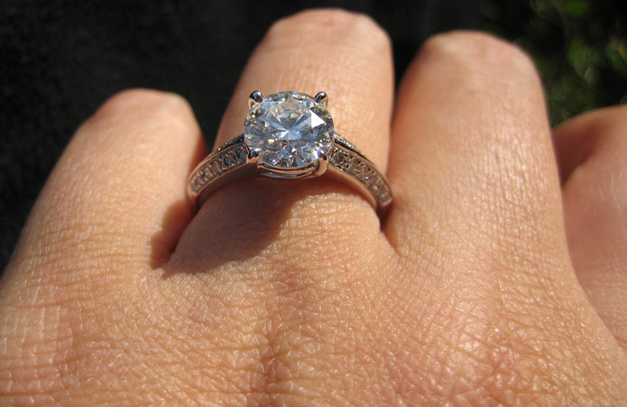 Dazzling GOG Vatche Engagement Ring