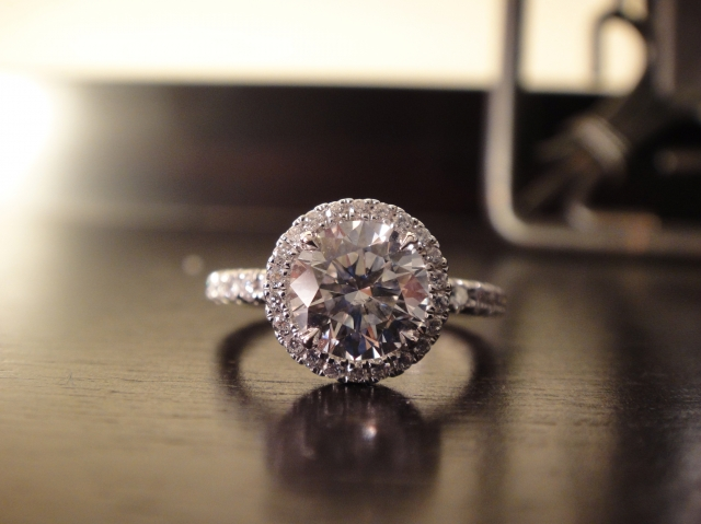 Halo Engagement Ring Reset