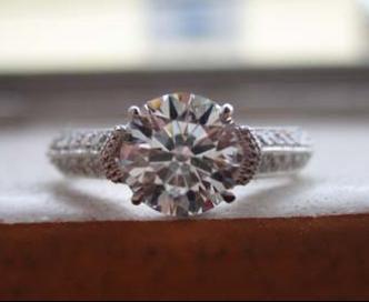 James Allen Engagement Ring Upgrade