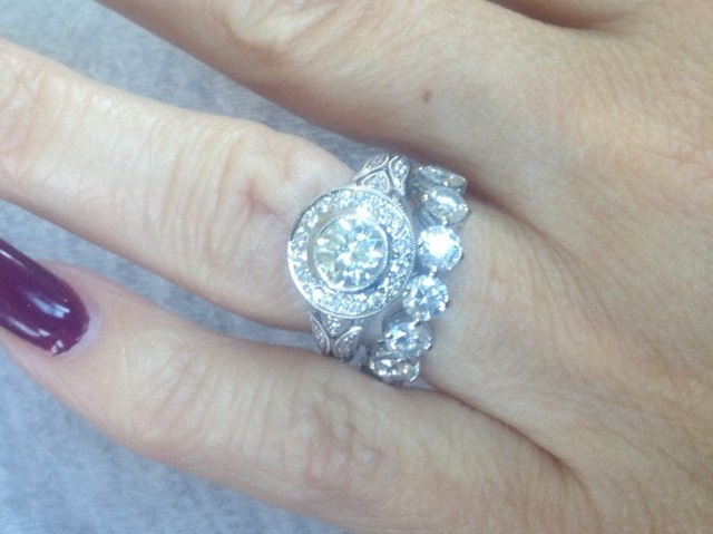 Engagement Diamond Reset