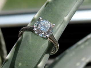 Heavenly H&A Engagement Ring
