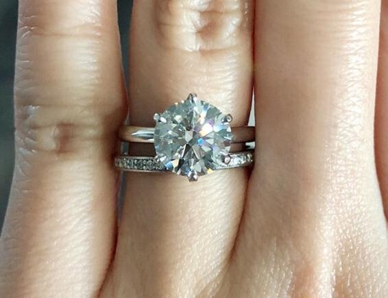WF Diamond Engagement Ring Upgrade