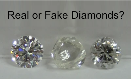 Real or Fake Diamonds