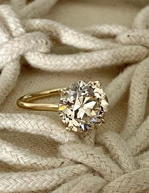 4+ ct OEC Engagement Ring