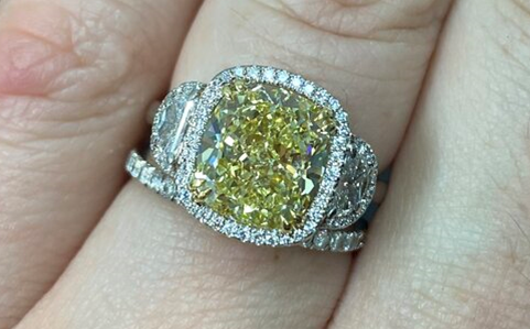 Brighten Up Your Day With A Fancy Colored Diamond