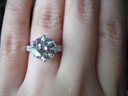 Stunning Engagement Ring Upgrade