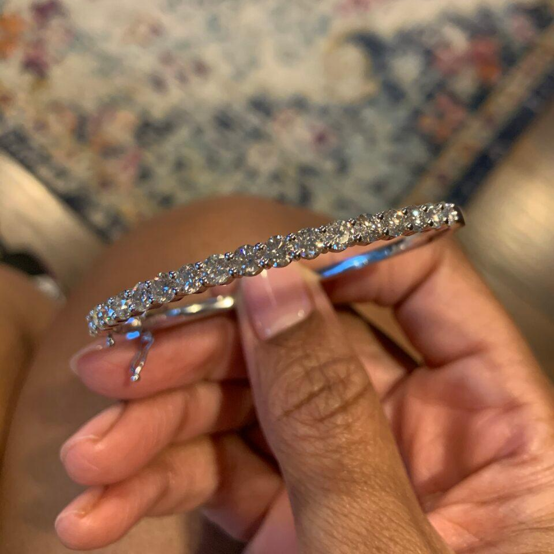 Diamond Bangle- Stacked With Love!