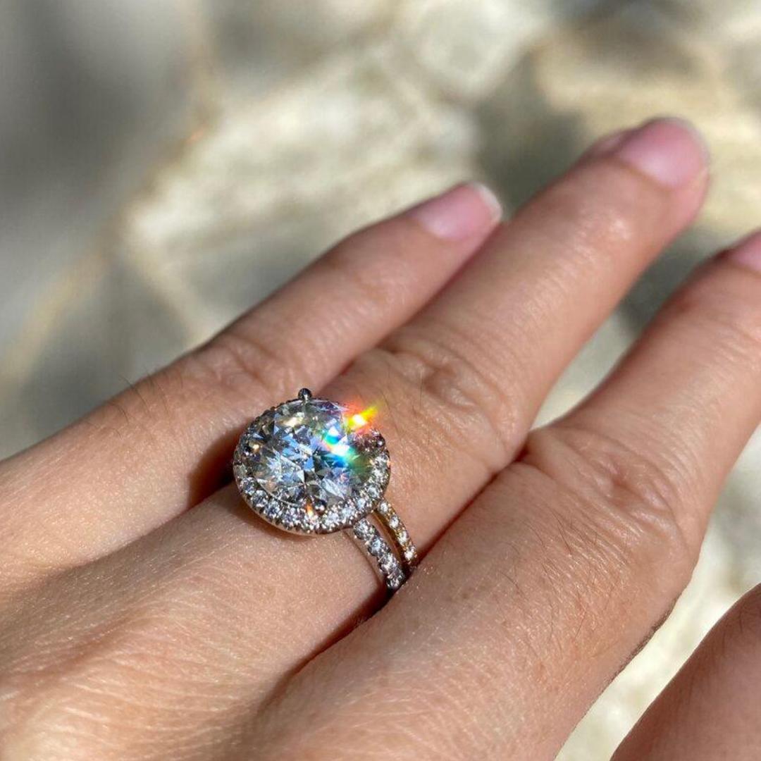 Custom Diamond Anniversary Gift
