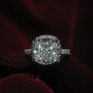 Chiguys's Cushion Cut Engagement Ring
