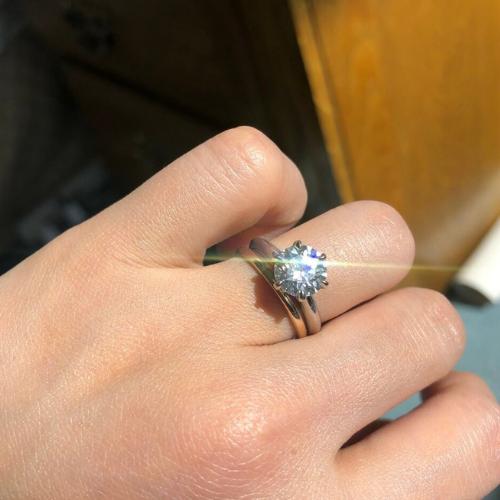 Push Present: Engagement Ring Upgrade