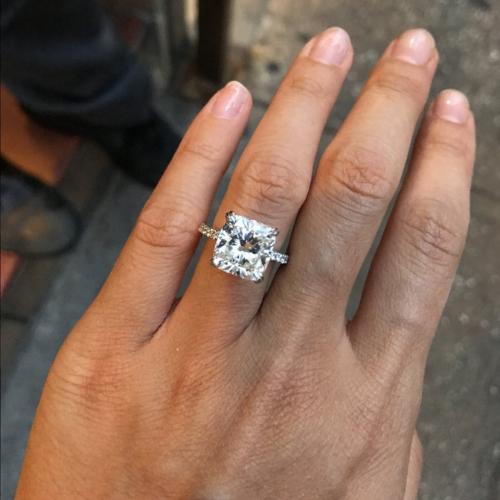 5.5 Carat Diamond Upgrade