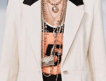 A Chanel Layered Look (via Harper's Bazaar)